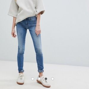 Free people denim skinny jean